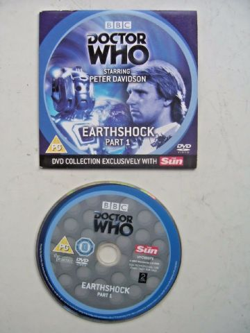 Doctor Who  Earthshock - DVD  Episode 1